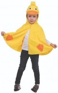 Rubies 12221 - Ente * Kinder Kostüm * Karneval * Quack * 92 - 116 * Entchen CAPE