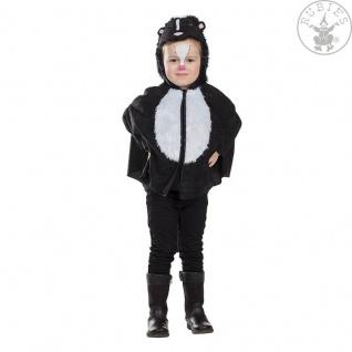 Rubies 12223 - Kleiner Stinker * Kostüm * Karneval * Stinktier * 92 - 116 * CAPE