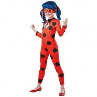 Rubies 3300502 - Deluxe Miraculous Ladybug, Kinder Kostüm, Gr. S-XL | 3-10 Jahre