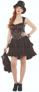Rubies 13205 - Steampunk Kleid, Steam Punk Kostüm, Gr. 36 - 44 Halloween Karneval