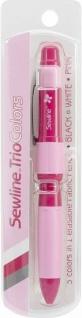 Sewline FAB50030 Trio Colors, Markierstift, 0, 9 mm Keramikminen, Stift Markierer