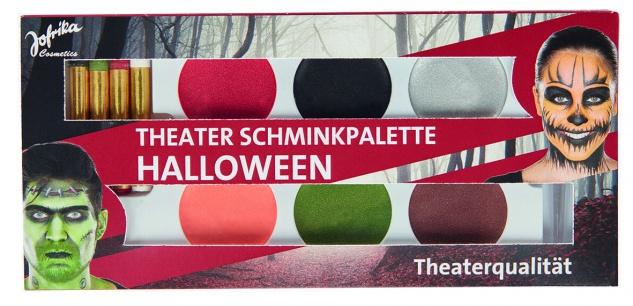 Jofrika Cosmetics 749816 - Theater Schminkpalette Halloween, Schmink Set