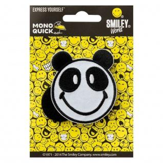 16815 Panda, Klett zum wechseln, Applikation Patch Bügelbild Flicken Aufnäher