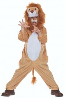 Mottoland 116209 - Löwe Marley, kuscheliges Kinder Kostüm Gr. 104 - 140