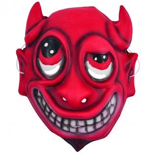 Rubies 6240346 - Kindermaske Teufel, Maske mit Gummiband, Kinder Kostüm Zubehör