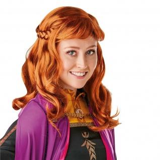 Rubies 3300474 - Anna Frozen 2 Wig - Adult, Eiskönigin II - Perücke Erwachsene