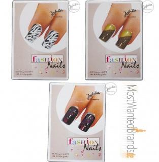 Jofrika Cosmetics * Fingernägel * Fashion Nails, Leopard, Safari, Asia * Nagel