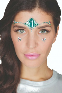 Jofrika Cosmetics 713303 - Festival Bindi: Jungle Spirit, Selbstklebend