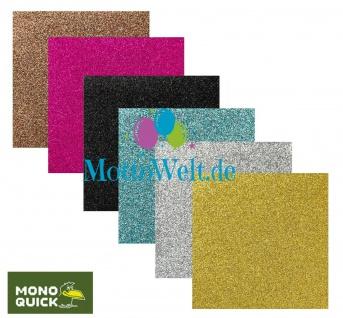 MQ 0623x Glitzerflicken, Glitter Bügelbilder, Patch, Applikation Glitzereffekt