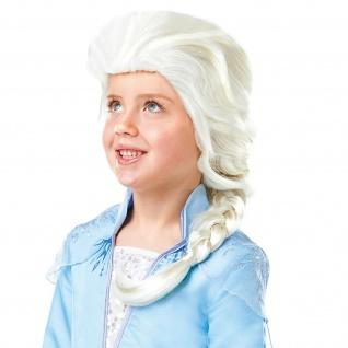 Rubies 3300471 - Elsa Frozen 2 Wig - Child, Eiskönigin II - Perücke Kind