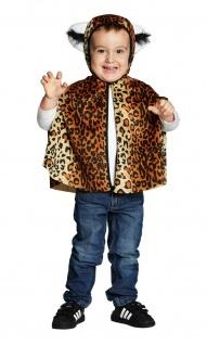 Rubies 12738 - Leoparden * Kinder Kostüm * Karneval * 92 104 116 * Leopard CAPE