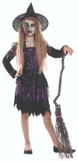 Rubies 12909 - Spider Witch Hexe * Kinder Hexen Kostüm * Gr. 116-164 * Halloween