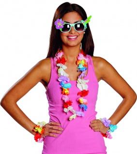 Mottoland 610087 - Hawaii Brille * Kostüm Zubehör für Karneval / Partys* ALOHA