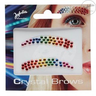 Jofrika - 750720 - Crystal Brows Rainbow * Regenbogen Augenbrauen - Einhorn