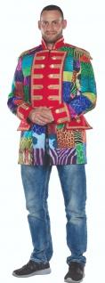 Mottoland 119202 - Jacke Multi-Patch Patchwork * 50 - 58 * Karneval Mantel