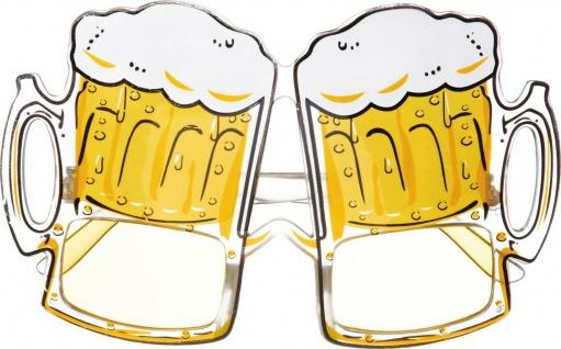 Mottoland 610018 - Bierglasbrille * Kostüm Zubehör * Oktoberfest Bierkrug BRILLE