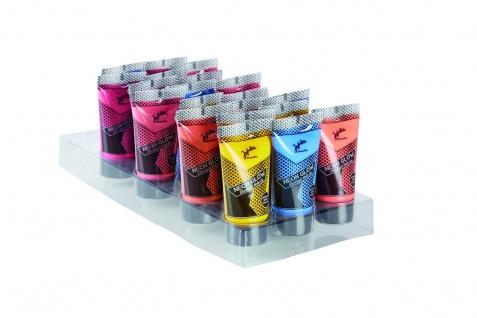 Jofrika Cosmetics 70860x - Neon Glow Blacklight Make-up, 5 verschiedene Farben