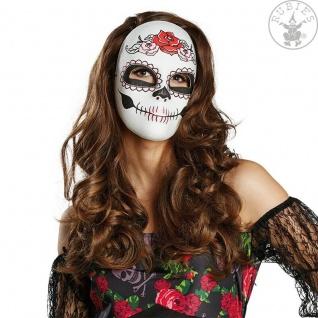 Rubies - 6240331 Halloween MASKE * Zombie * Skelett * LA CATRINA