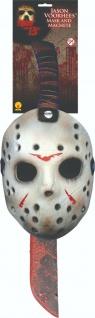 Rubies 38785 - Jason Maske und Machete, Halloween, Friday 13th, Freitag der 13.