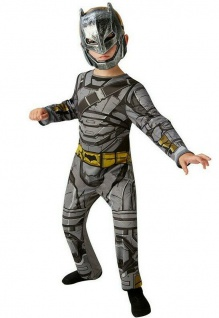 Rubies 3620424 Batman Rüstung Kinder Kostüm, DC DOJ, 3620554 - ca. 3 -10 Jahre