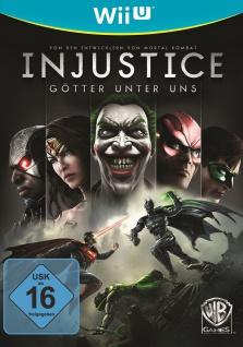 Injustice: Götter unter uns (Nintendo Wii U, 2013, DVD-Box) Game Spiel NEU
