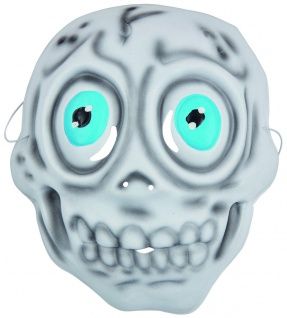 Rubies 6240347 - Kindermaske Skelett, Maske mit Gummiband, Kinder Kostüm Zubehör