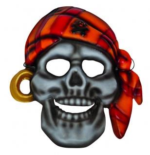 Mottoland 64021 - Piratenmaske, Maske mit Gummiband, Kinder Kostüm Zubehör Pirat