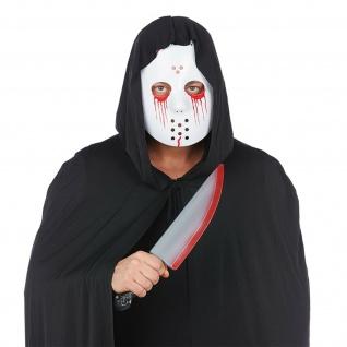 Mottoland 613034 - Bloody Mask & Knife Set 2 tlg. * Blutige Maske und Messer STD