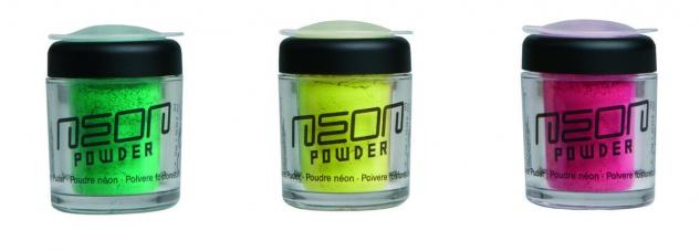 Jofrika Cosmetics 71030x - Neon Powder, Puder mit Leuchtkraft, 2g, versch Farben