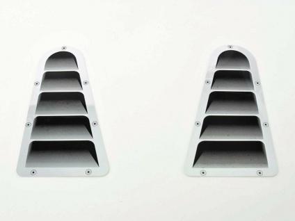 Auto Lufteinlass Aufkleber 2er Set ca. 180 x 95 * universal * FK-Automotive