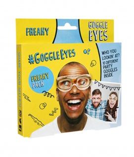 Rubies 6240500 - Freaky Google Eyes, 10 paar Augen, Partyspaß Pappbrillen
