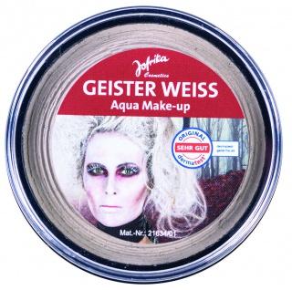 Jofrika Cosmetics 708784 - Geister Weiß Aqua Make-up, Cup 16g - Gespenster Weiss