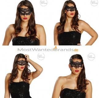 Masken Spitzendomino * Domino Maske * Sexy * Katze, Fledermaus, Venezianer schw.