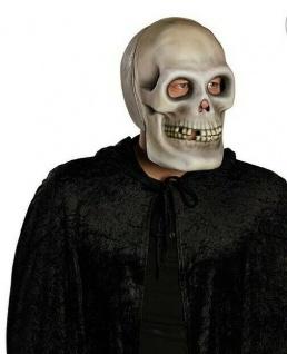 Mottoland 6405x Skull Vollmaske / Skelett Halloween Maske, Horror Maske