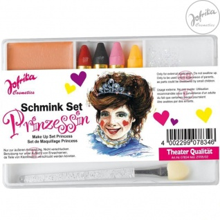 Jofrika Cosmetics * 707834 - Schminkset Prinzessin * Schminke Karneval *
