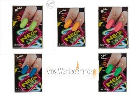 Jofrika Cosmetics * Neon Fingernägel * Kunstfingernägel * Nägel * in 5 Farben