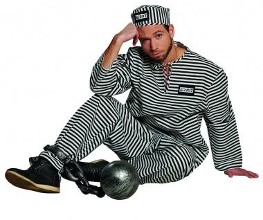 Rubies 10459 - Sträfling * Jungesellenabschied * 48 - 58 * Gefangener, Party JGA