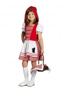 Rubies 12701 Rotkäppchen Kinder Kostüm * Karneval Halloween * Gr.104 116 128 140