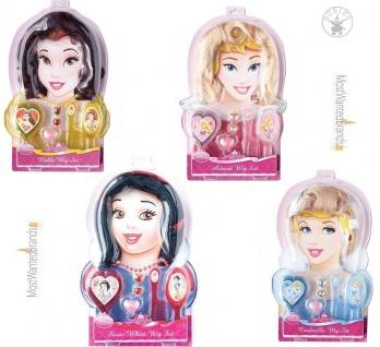 Rubies Accessoire Set * Belle Dornröschen Schneewittchen Cinderella * Wig Set