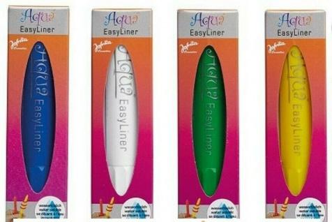 Jofrika 70883x Aqua Easy Liner Pen, Schminkstifte auf Wasserbasis