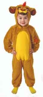 Rubies 3620649 - Furry Kion, Die Garde der Löwen, Lion Kostüm 86 - 104 Overall