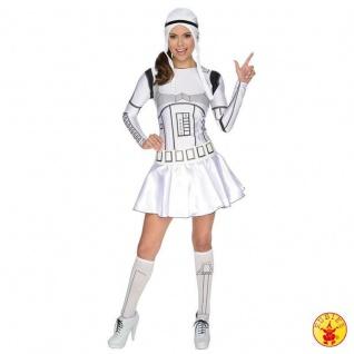 Rubies 3887129 - Star Wars Lady Dress Adult * Sexy Stormtrooper * für Damen