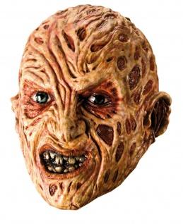 Rubies 34167 - Freddy 3/4 Vinylmaske - Adult, Halloween, Krüger. A Nightmare
