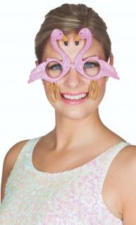 Mottoland 610009 - Flamingo Brille * Kostüm Zubehör für Karneval/Partys* glasses