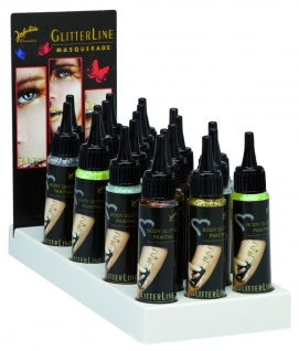 Jofrika Cosmetics 7003xx - Body Glitter Painting, Glittermaler, Bühnen Make up