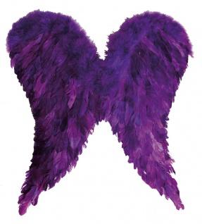 Rubies 613654 - Engelsflügel lila 65x60 cm * Kostüm Zubehör * Engel, Flügel