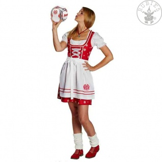 Rubies 380501 Kostüm * 1. FSV Mainz 05 Dirndl * Oktoberfest, Tracht, Fan * Wiesn