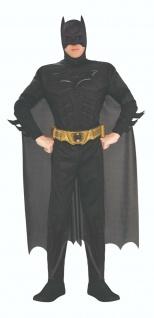 Rubies 3880671 Batman Kostüm DELUXE für Erwachsene * Gr. M L XL Karneval
