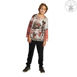 Rubies 12855 - Zombie Shirt, Kinder Kostüm * Gr. 104 - 152 Halloween