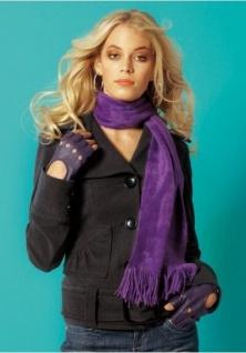 MELROSE Damen Jacke COOLER Look mit Gürtel in grau NEU